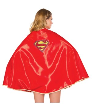 30 Inch Supergirl Women Cape