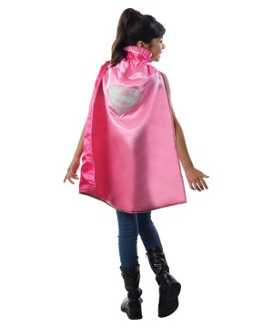Dc Supergirl Girls Cape