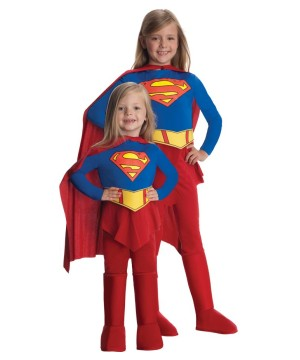 Supergirl Superhero Power Girls Costume