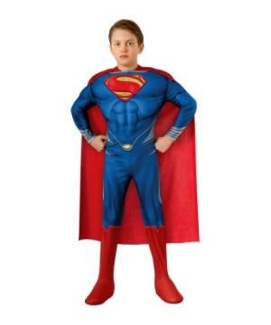 Superman Muscle Kids Costume