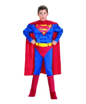 Superman Little Boys Toddler Muscle Costume