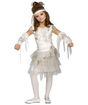 Big Girls Mummy Dress Halloween Costume