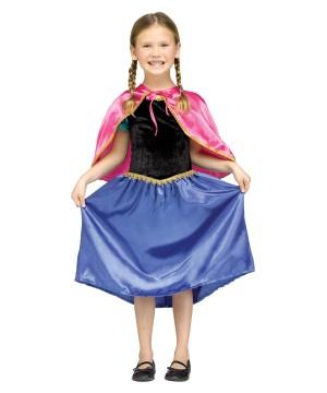 Disney Frozen Anna Inspired Girls Sweet Princess Halloween Costume