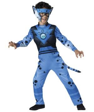 Wild Kratts Blue Cheetah Boys Pbs Television Halloween Costume