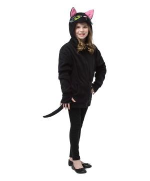 Teen Black Cat Hoodie