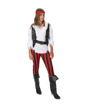 Teen Girls Rebel Pirate Costume
