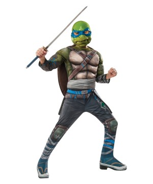 Teenage Mutant Ninja Turtles: Out Of The Shadows Leonardo Boys Costume