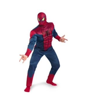 The Amazing Spider Man Classic Muscle Adult Plus Costume