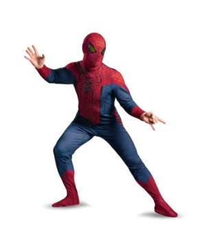 The Amazing Spider Man Movie Adult Plus Costume Deluxe
