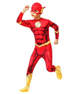 The Flash Jumpsuit Boys Costume