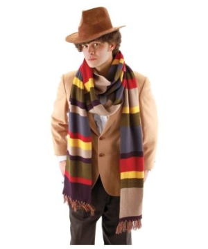 The Fourth Doctor Long Adult Scarf Deluxe