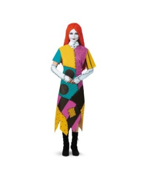 The Nightmare Before Christmas Sally Adult Plus Costume
