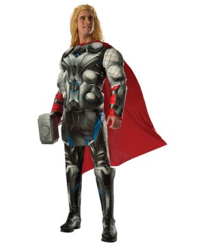 Ultron Avengers Thor Movie Men Costume