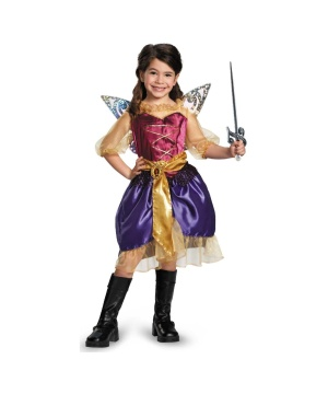 Tinker Bell And The Pirate Fairy Pirate Zarina Girls Costume