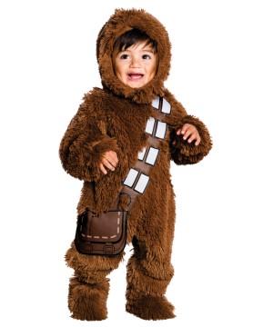 Kids Chewbacca Plush Costume