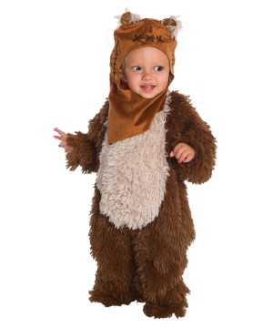 Kids Ewok Plush Costume