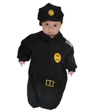 Baby Police Bunting Costume