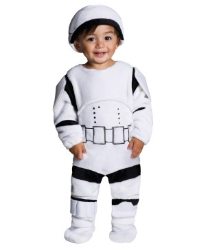 Kids Storm Trooper Plush Costume