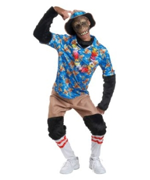 Tourist Chimp Adult Costume