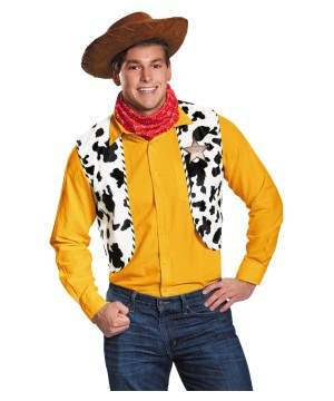 Disney Woody Toy Story Men Costume Kit