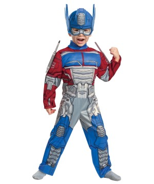 Transformers Boys Optimus Toddler Muscle Costume