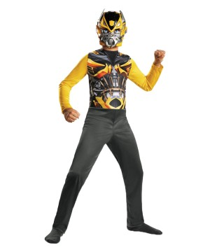 Transformers Bumblebee Jumpsuit Boys Costume