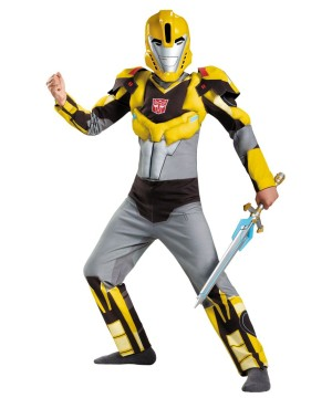 Bumblebee Transformers Big Boys Muscle Costume