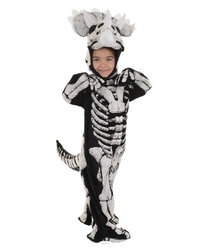 Triceratops Dinosaur Little Boys Costume