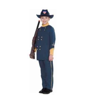 Union Officer Kids Costume