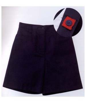 Universal Uniforms School Girls Shorts In Navy Blue
