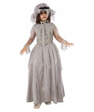 Victorian Big Girls Ghost Costume