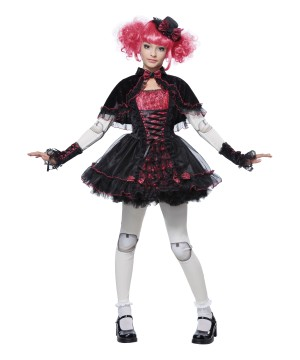 Gothic Victorian Doll Girls Costume