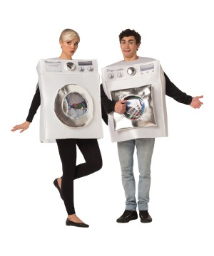 Washer Dryer Couples Costumes
