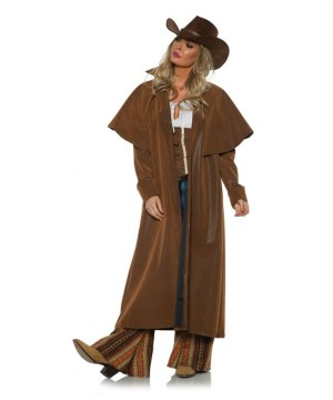 Western Woman Duster Cowgirl Coat