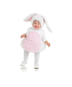 White Bunny Toddler Costume