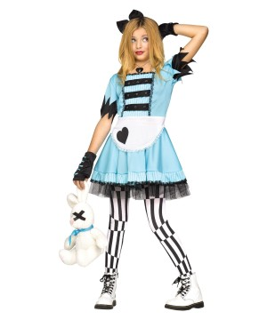Wild Wonderland Alice Girls Costume
