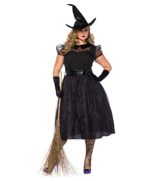 Spellcaster Witch Plus Size Women Costume