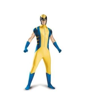 Wolverine Bodysuit Adult Costume Deluxe