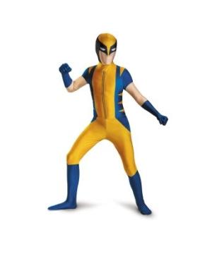 Wolverine Bodysuit Kids/teen Costume Deluxe