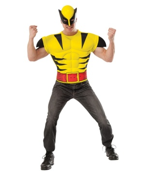 X?men Wolverine Men's Muscle Costume Shirt