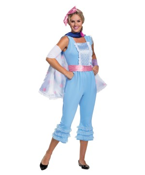 Womens Bo Peep Look Costume Deluxe