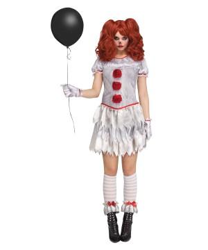 Womens Carnevil Clown
