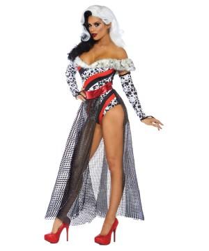 Womens Dalmatian Diva Costume