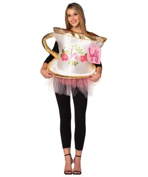 Tea Spill Womens Costume
