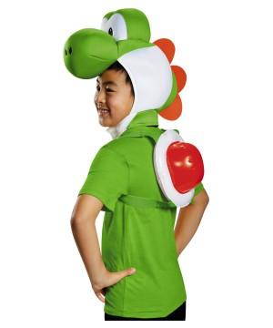 Yoshi Boys Super Mario Costume Nintendo Accessory Kit