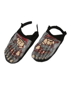 Zombie Adult Foot Covers