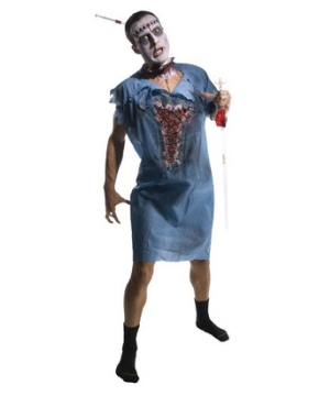 Zombie Patient Adult Gown Costume