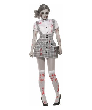 School Girl Zombie Women Costume