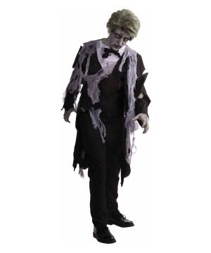 Zombie Man Tuxedo Costume